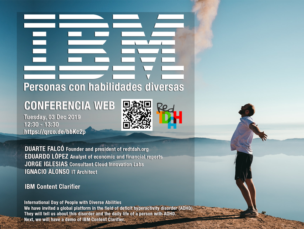 conferencia IBM redtdah